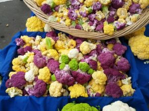 cauliflower, Arcata Farmers Market
